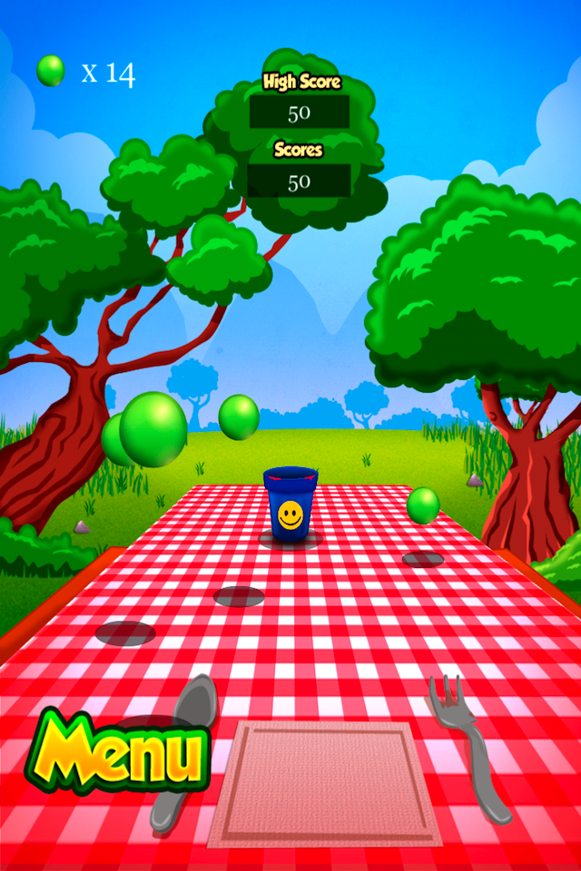 Screenshot Cup Ball Shooter Lite